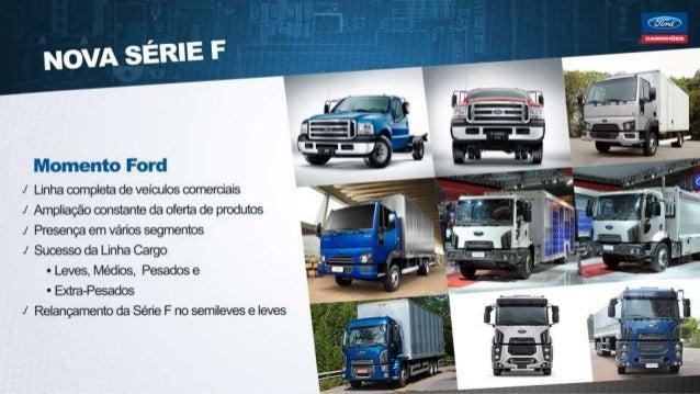 ¡Líiomento Ford I Linha completa de veículos comerciais l Ampliação constante da oferta de produtos J Presença em vários s...