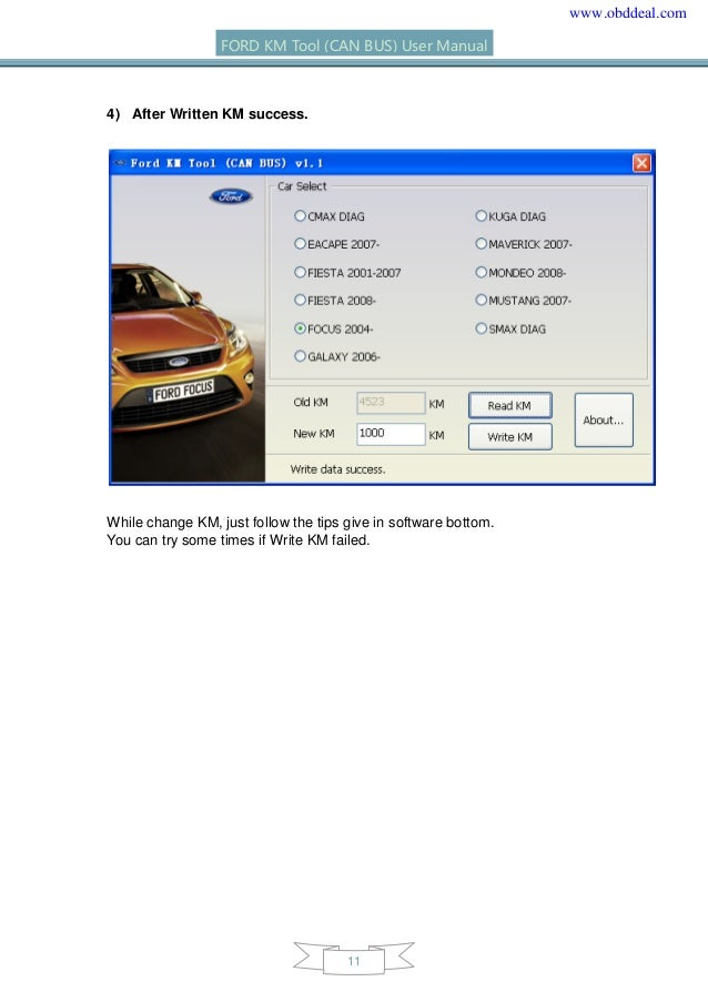 ford km tool can bus user manual english Operators Manual Operators Manual