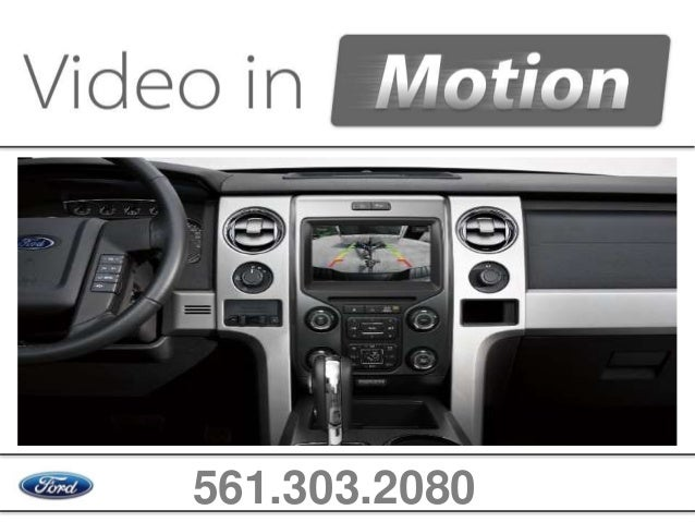 MyFord Touch Video In Motion