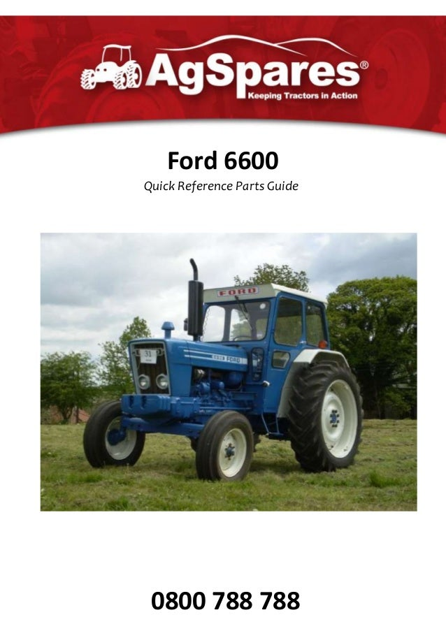 Ford 6600 Parts Catalogue