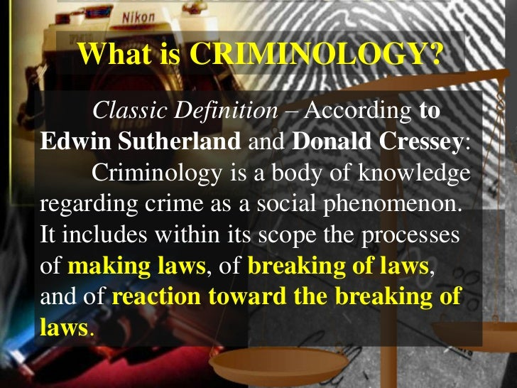 what is criminology As a criminology graduate with critical thinking, analytical and communications  skills, you're attractive to employers both inside and outside the criminal justice.