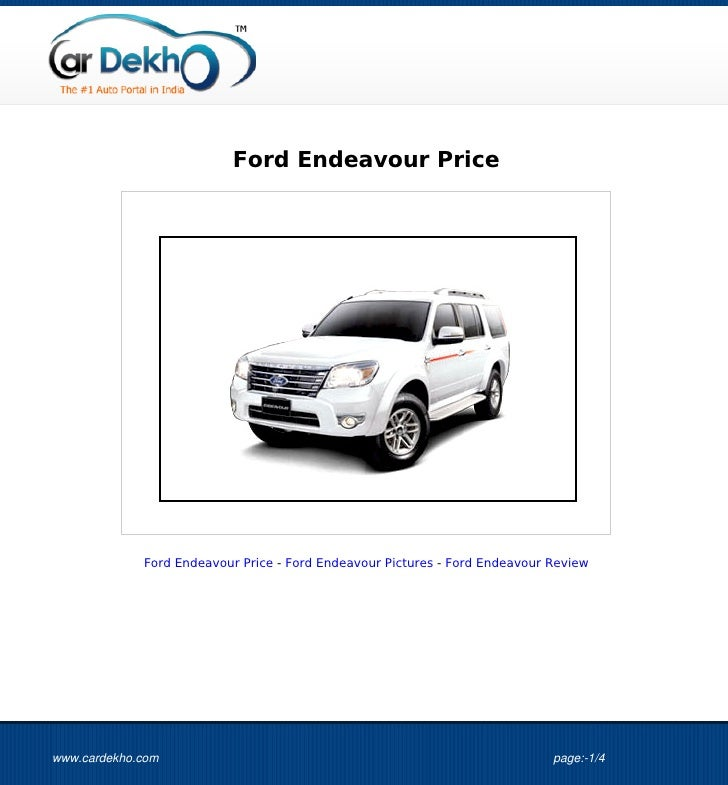 Ford+Endeavour+Price+11Jul2012