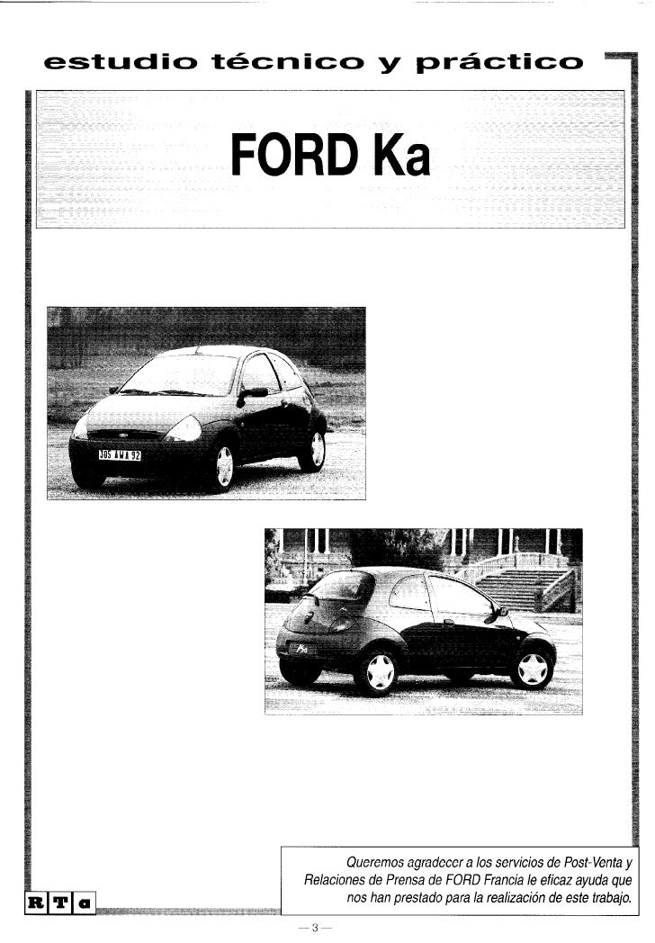 Ford ka workshop_manual
