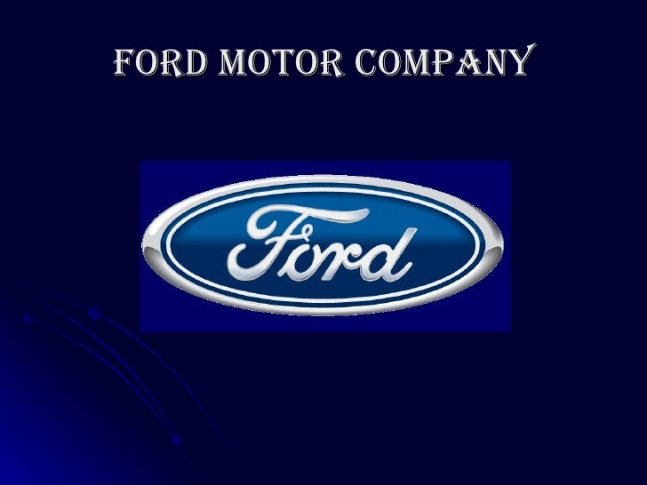 Ford Motor Company: Supply Chain Management - PowerPoint PPT Presentation