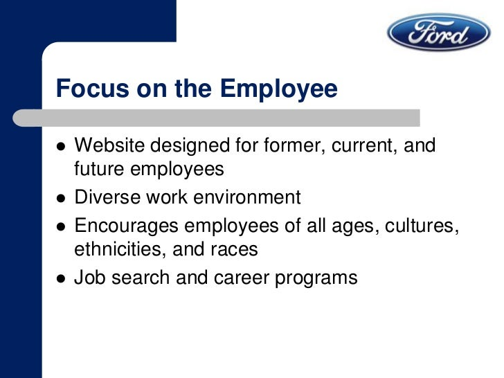 Ford motor company social media for Ford motor company employee website