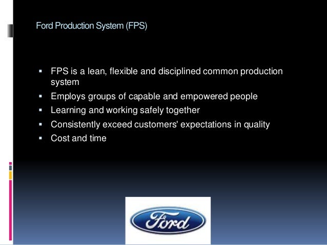 ford motor company case study analysis Ford motor company using plm technology to manage in-vehicle software, ford has greatly reduced repair work and is setting the stage for additional savings through software re-use.