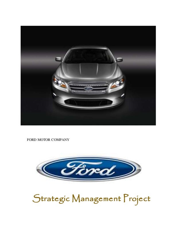 Ford motor company for Ford motor company leadership