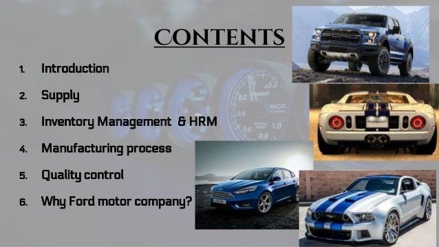 & Ford Motor Company markmcfarlin.com