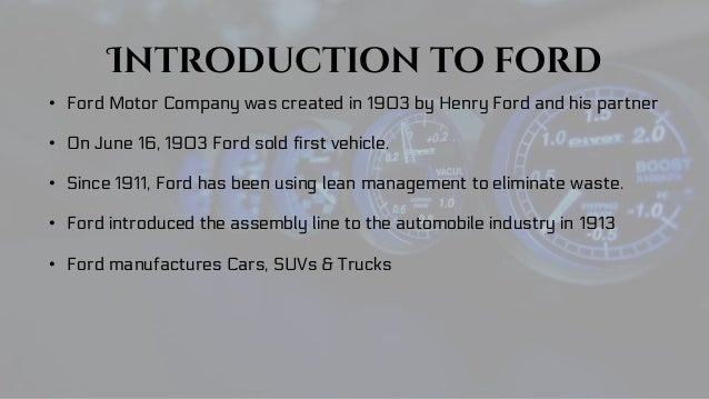 HENRY FORD 1903 5
