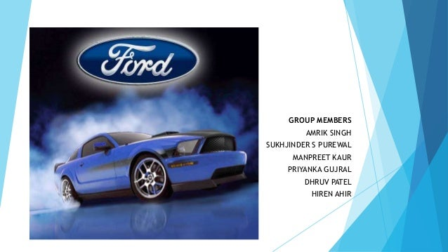 Case Analysis Of Ford Motor Company: Supply Chain Strategy