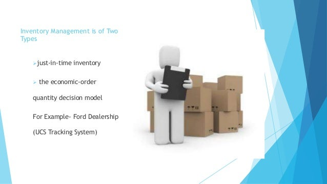 supply chain management of ford motor Bus 754: information systems management case presentation: ford motor company – supply chain strategy submitted by: jenny binsfeld and john p williams.