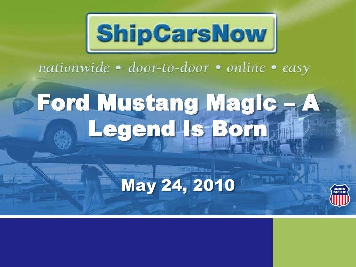 Ford Mustang Magic – A Legend Is Born<br />May 24, 2010<br />