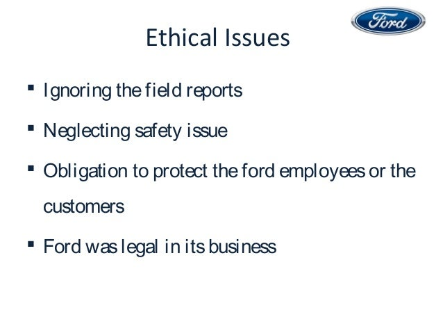 was ford to blame in the pinto case