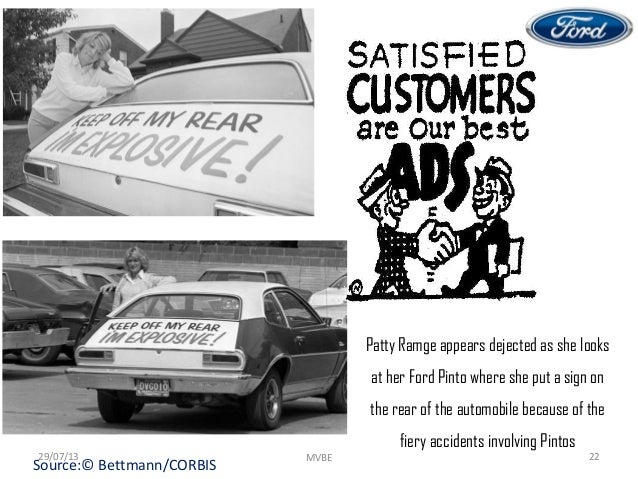 ford pinto ethics