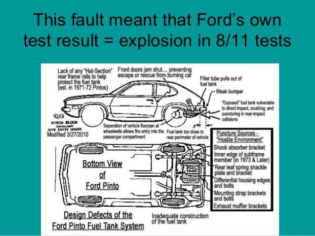 The ford pinto case essay