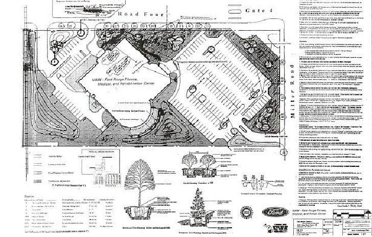 Ford Plant Landscape Site Plan