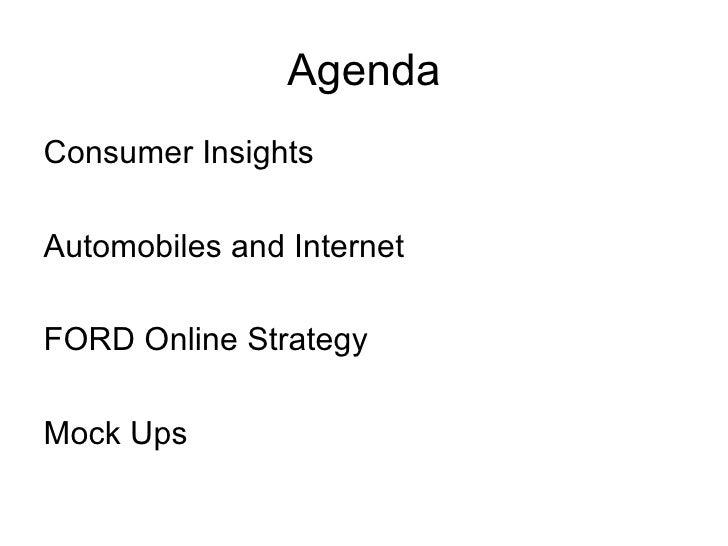 Ford Presentation - Internet Marketing Slide 2