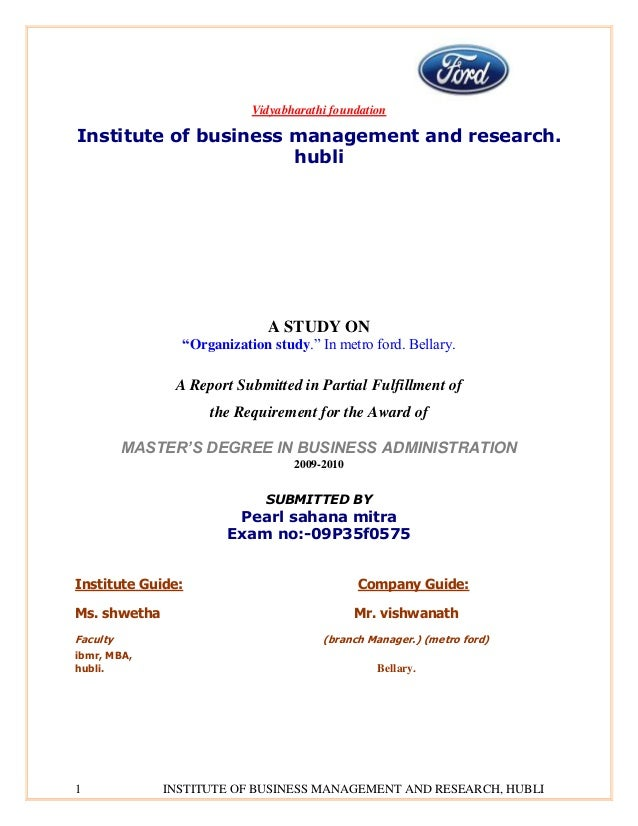 Vidyabharathi foundationInstitute of business management and research.                      hubli                         ...
