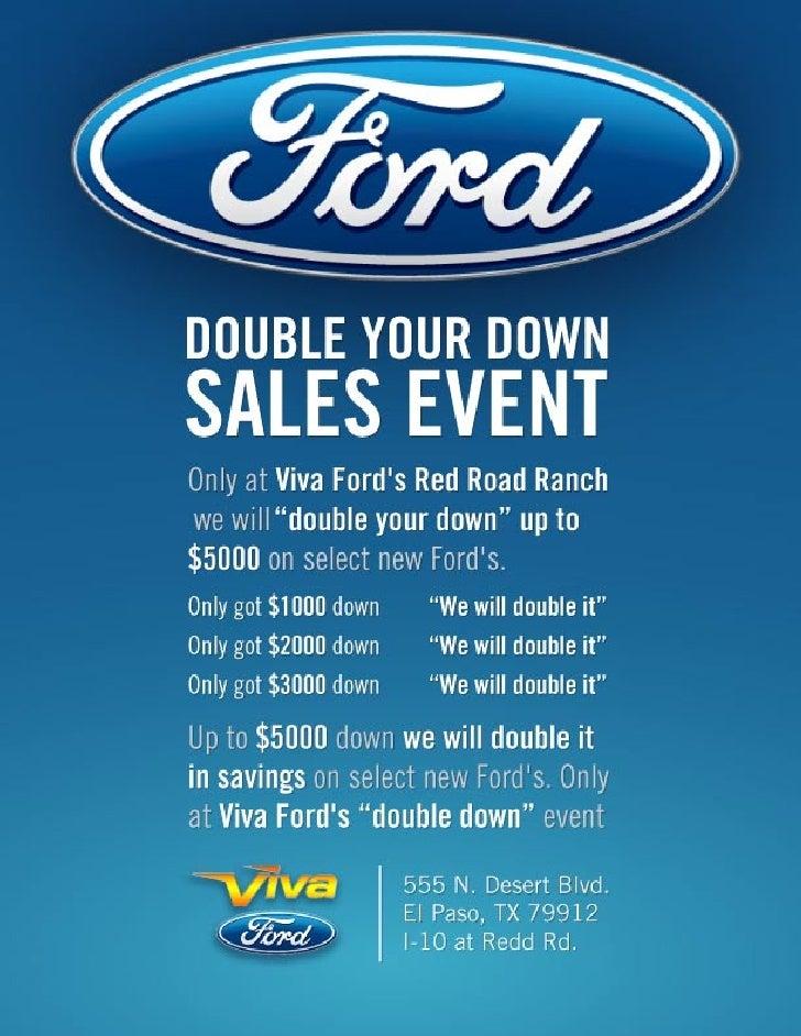 Viva Ford El Paso >> Ford Sales Event Viva Ford El Paso Tx