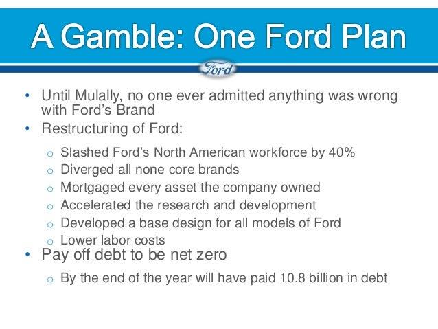 FordS Strategic Positioning