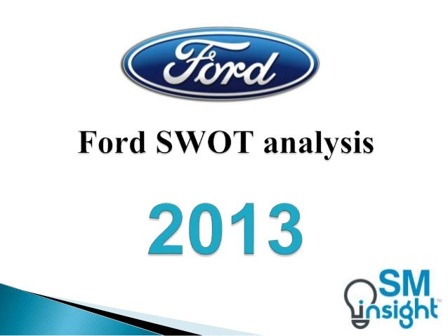 ford motor company and strategic group