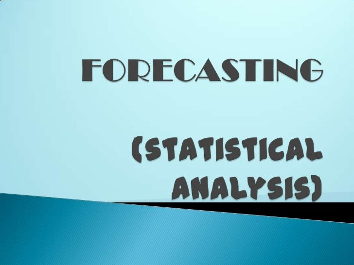 process of predicting or estimating thefuture based on past and present data.provides information about thepotential fut...
