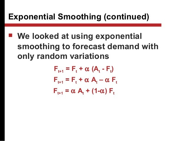 forecast error time series models tracking Time series and forecasting lecture 3 forecast intervals, multi-step forecasting bruce e hansen summer school in economics and econometrics university of crete july 23-27, 2012  mean-variance model interval forecasts - summary the key is to break the distribution into the mean m t, variance s2 and the normalized error # t+1 y t+1 = m t +s t# t+1 then the distribution of y.