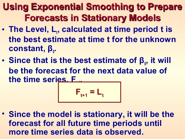 relationship between and damping factor exponential smoothing