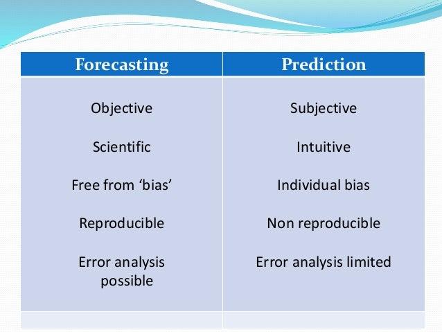characteristics of good demand forecasting pdf