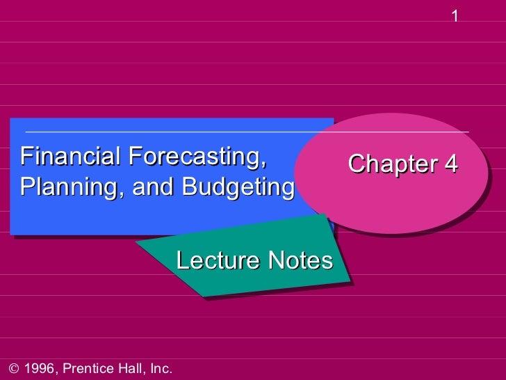 Forecasting 4