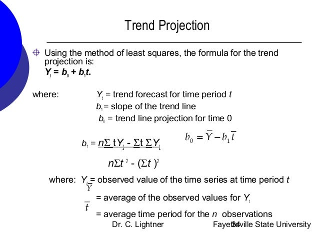 techniques of forecasting Sometimes one of these simple methods will be the best forecasting method available but in many cases, these methods will serve as benchmarks rather than the method of choice that is, any forecasting methods we develop will be compared to these simple methods to ensure that the new method is better than these simple alternatives.