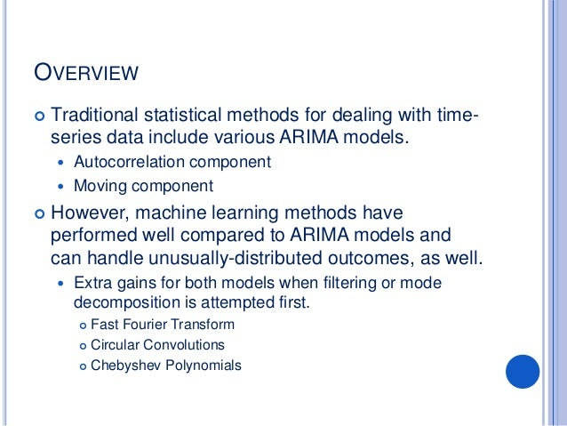 Forecasting time series for business and operations data: A