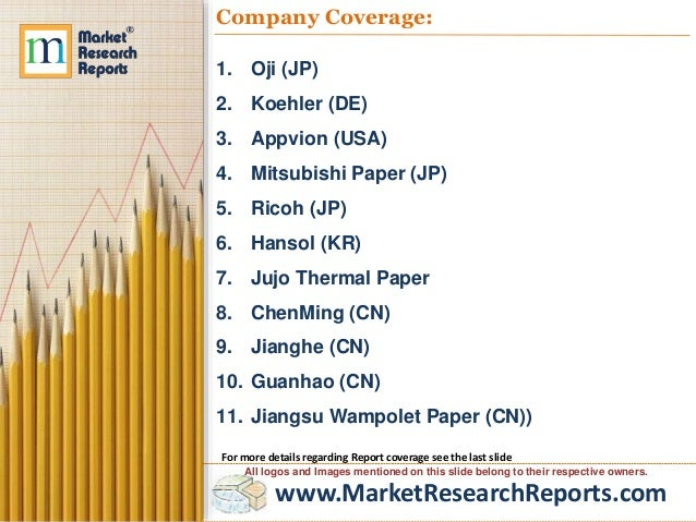 Forecast of Global Thermal Paper Market 2023