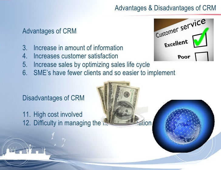 crm advantages and disadvantages Fore Cis Crm
