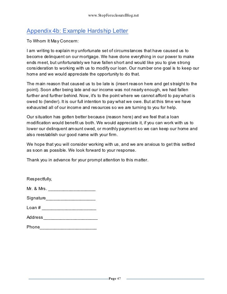 Cash Out Refinance Cash Out Refinance Letter Of Explanation Template