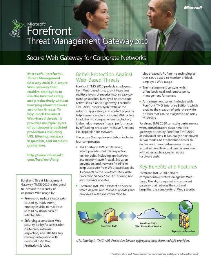 Microsoft forefront threat management gateway wikiwand.