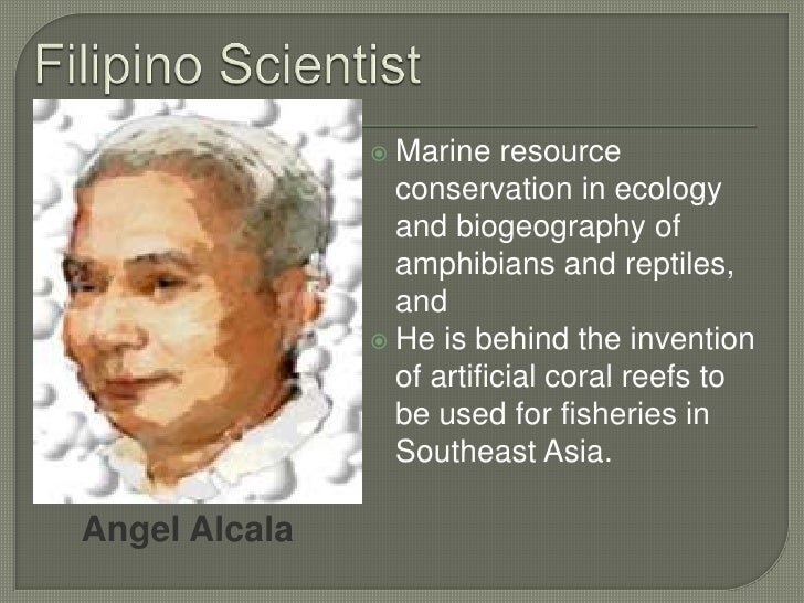 Who Are Some Filipino Scientists, and What Are Their Contributions to Chemistry?