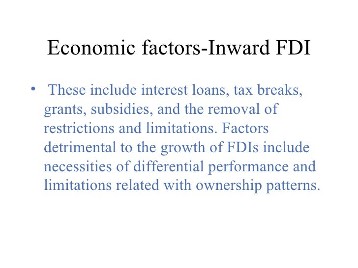what location influences foreign direct investment 1 infrastructure and the location of foreign direct investment a regional analysis ϕ lucio castro ξ paulo regis ψ daniel saslavsky ζ first version: 07 september 2007.