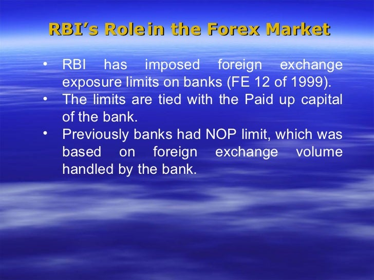 Rbi forex limit