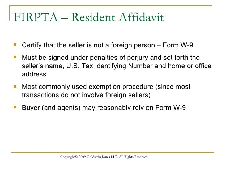 Foreign Persons Owning U.S. Real Estate