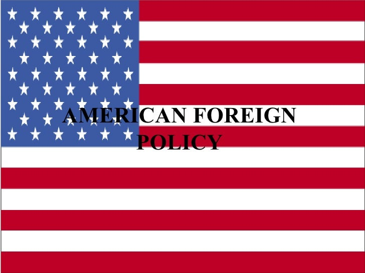Essays on american foreign policy