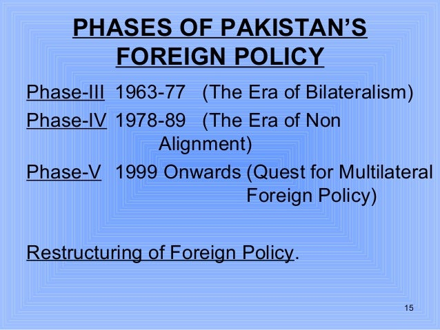 pakistans foreign policy With all the press on pakistan's inter-services intelligence directorate's (isi) activities over the years, our shelves should be bulging with books dissecting the service.