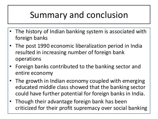 banking system in india