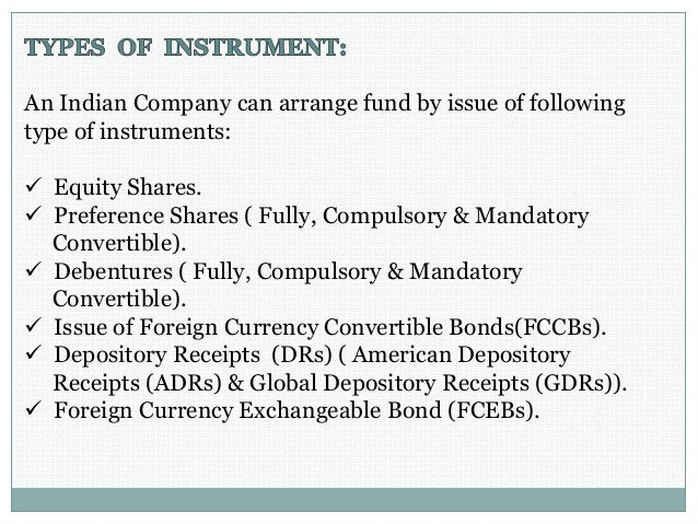 Foreign currency investments