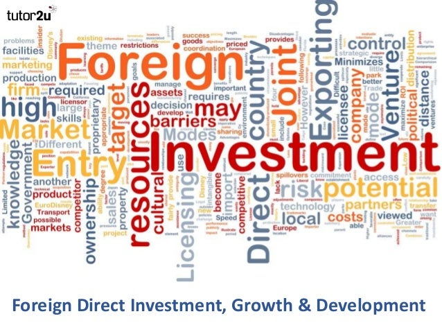 impact of fdi to china growth Essays on the impact of foreign direct investment and saving in  essays on the impact of foreign direct investment and.