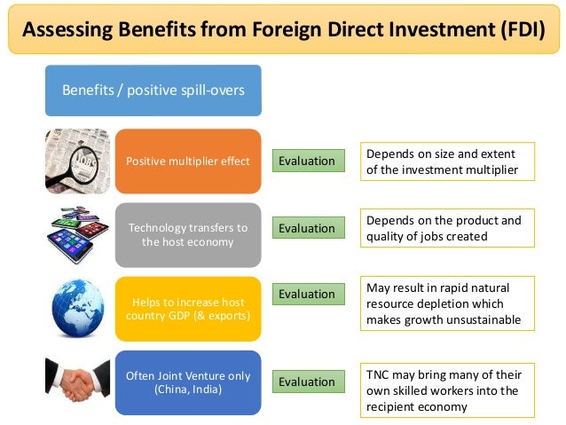 Home- and Host-Country Effects of Foreign Direct Investment