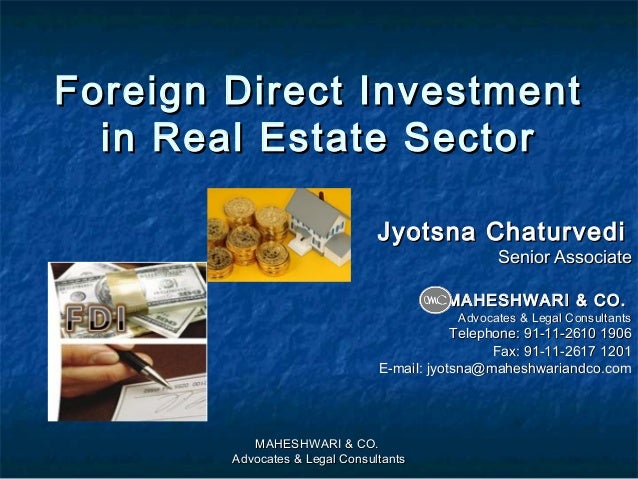 Effect of foreign direct investment in the retailing sector