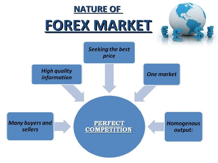 foreign markets The market in which participants are able to buy, sell, exchange and speculate on currencies foreign exchange markets are made up of banks, commercial companies.