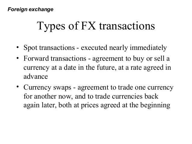 Fx exchange
