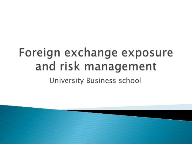 The risks businesses face in international finance